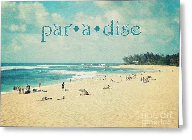 Paradise Greeting Card by Sylvia Cook