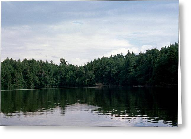 Paradox Lake Iv  Greeting Card
