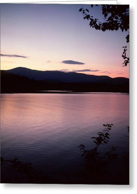 Paradox Lake Sunset IIi Greeting Card
