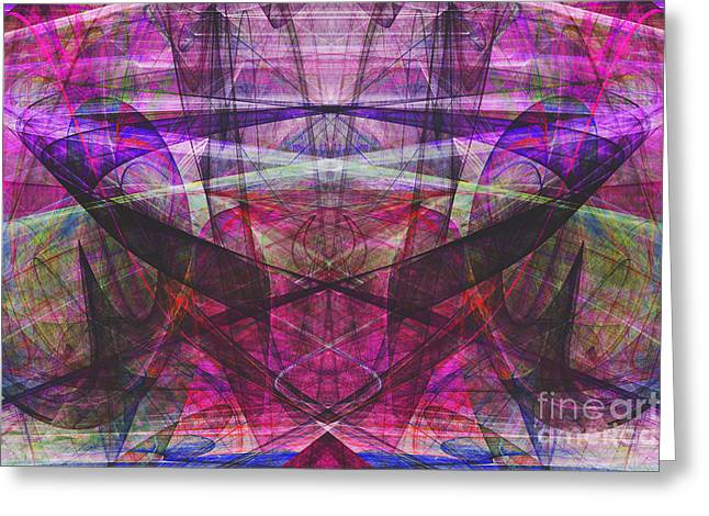 Parallel Universe 20130615 Greeting Card by Wingsdomain Art and Photography