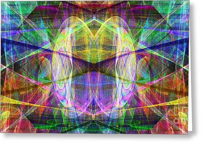 Parallel Universe Ap130511-22-2b Greeting Card by Wingsdomain Art and Photography