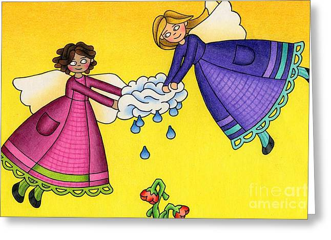 Parched Greeting Card by Sarah Batalka