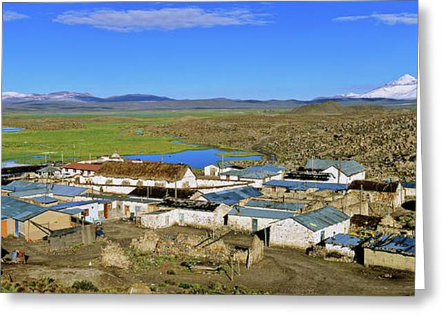 Parinacota, An Aymara Village In Lauca Greeting Card
