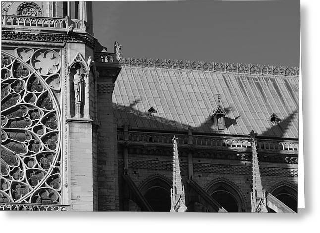 Paris Ornate Building Greeting Card by Cheryl Miller
