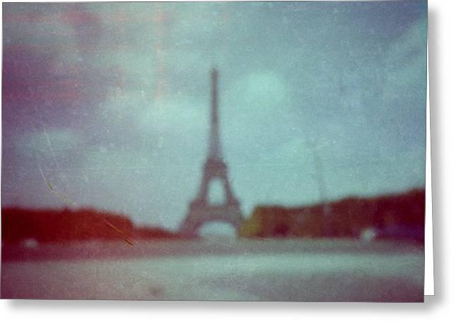 Paris Greeting Card by Alex Conu