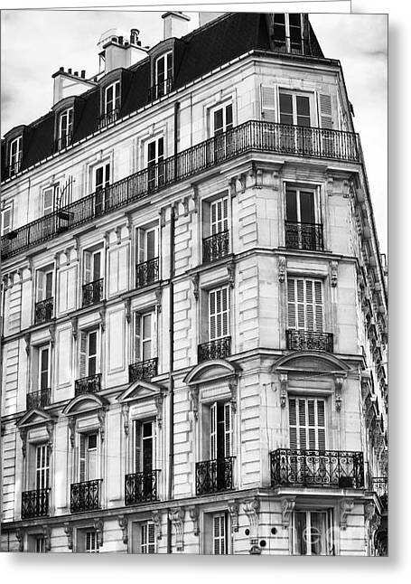 Paris Architecture I Greeting Card