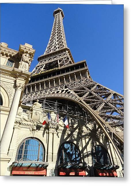 Paris Casino Greeting Card by Renie Rutten