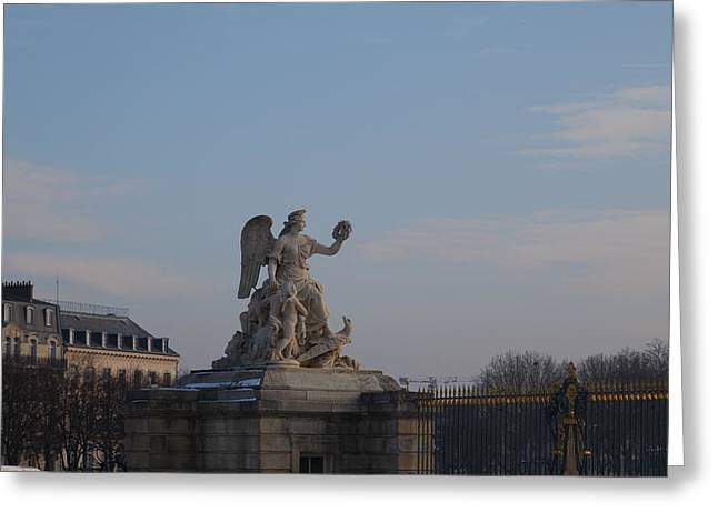 Paris France - 011374 Greeting Card by DC Photographer