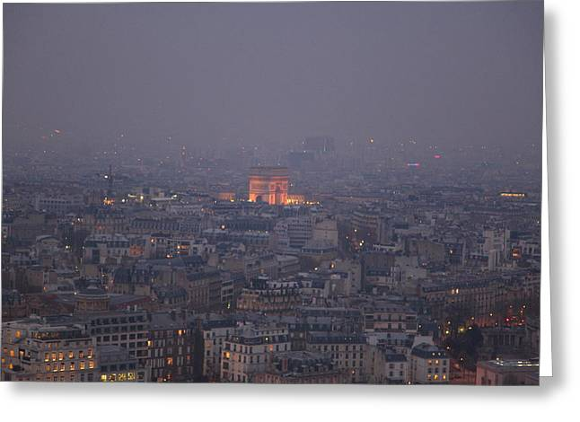 Paris France - Eiffel Tower - 011318 Greeting Card by DC Photographer