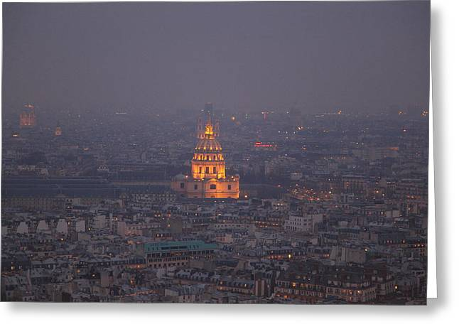 Paris France - Eiffel Tower - 011320 Greeting Card by DC Photographer