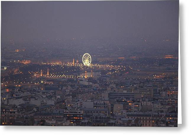 Paris France - Eiffel Tower - 011321 Greeting Card by DC Photographer
