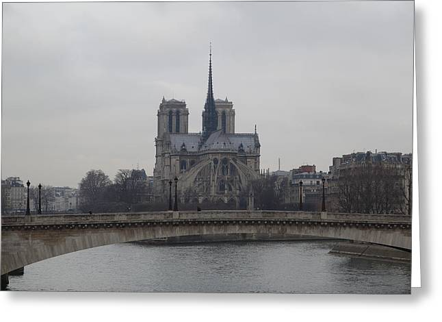 Paris France - Notre Dame De Paris - 011313 Greeting Card