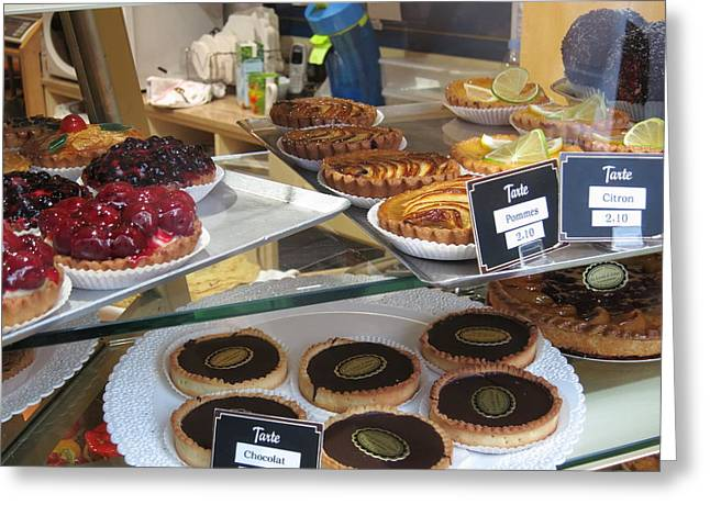 Paris France - Pastries - 121210 Greeting Card