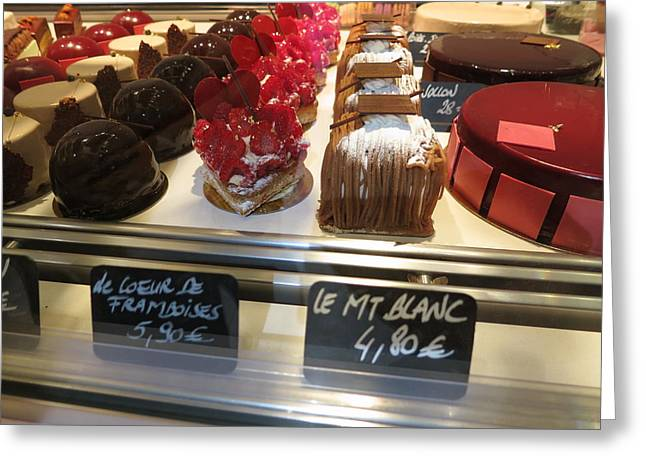 Paris France - Pastries - 1212249 Greeting Card by DC Photographer