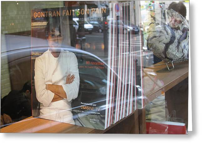 Paris France - Pastries - 121244 Greeting Card by DC Photographer