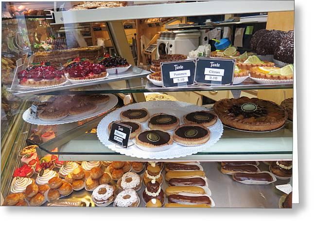 Paris France - Pastries - 12125 Greeting Card