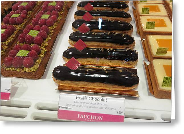 Paris France - Pastries - 121291 Greeting Card
