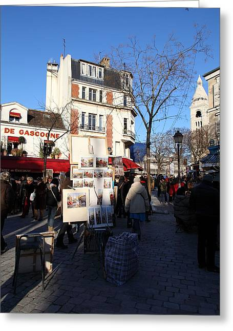Paris France - Street Scenes - 011310 Greeting Card
