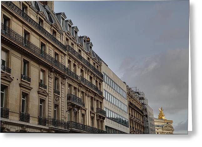 Paris France - Street Scenes - 0113101 Greeting Card by DC Photographer