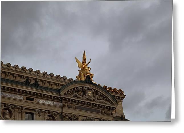 Paris France - Street Scenes - 0113111 Greeting Card