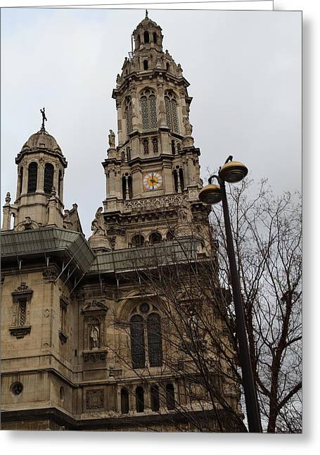 Paris France - Street Scenes - 0113126 Greeting Card by DC Photographer