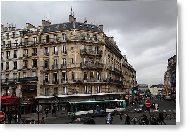 Paris France - Street Scenes - 0113142 Greeting Card