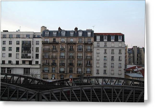 Paris France - Street Scenes - 011316 Greeting Card by DC Photographer