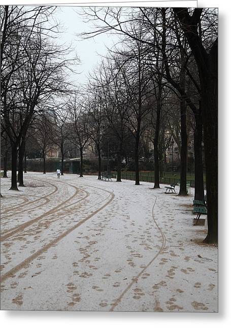 Paris France - Street Scenes - 011325 Greeting Card by DC Photographer