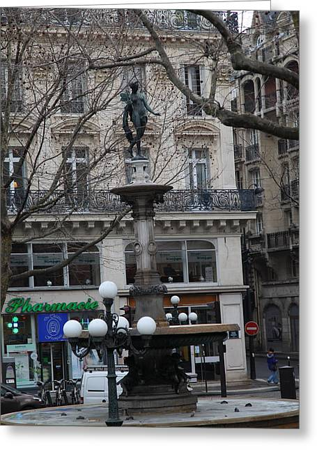 Paris France - Street Scenes - 011334 Greeting Card by DC Photographer