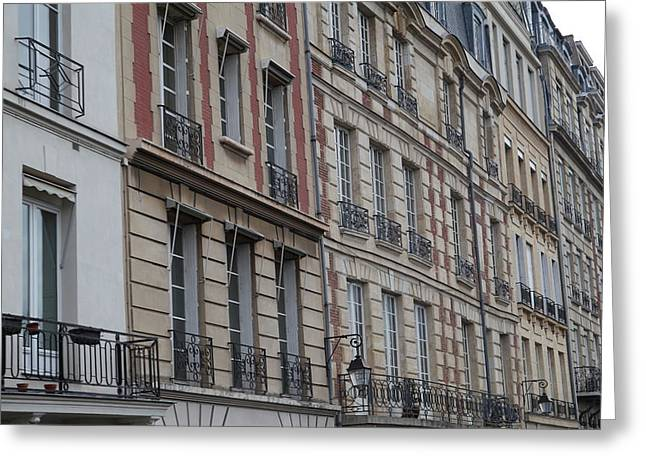Paris France - Street Scenes - 011357 Greeting Card by DC Photographer