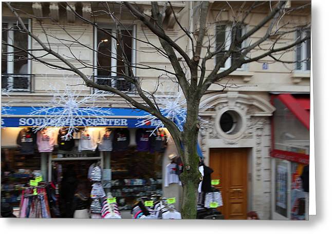 Paris France - Street Scenes - 011362 Greeting Card by DC Photographer