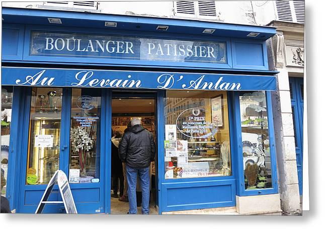 Paris France - Street Scenes - 121211 Greeting Card
