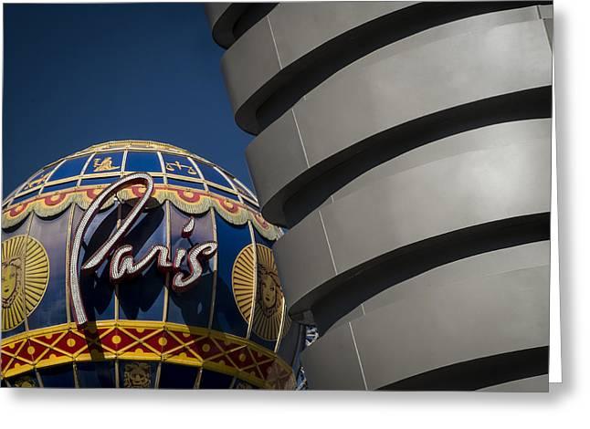 Paris Greeting Card by Glenn DiPaola