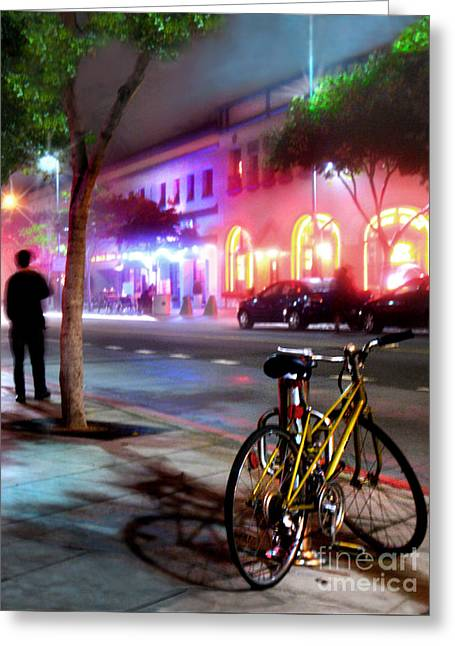 Greeting Card featuring the photograph Paris In Santa Monica by Jennie Breeze