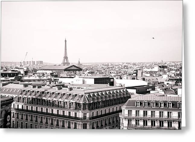 Paris In The Afternoon Greeting Card by Vivienne Gucwa