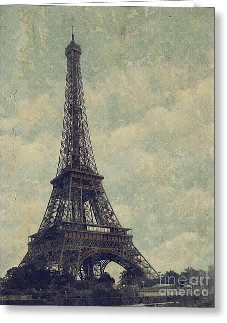 Paris Greeting Card by Jelena Jovanovic