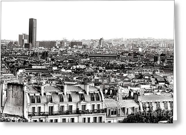 Paris Montparnasse Greeting Card