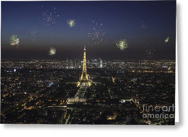 Paris Greeting Card by Patricia Hofmeester
