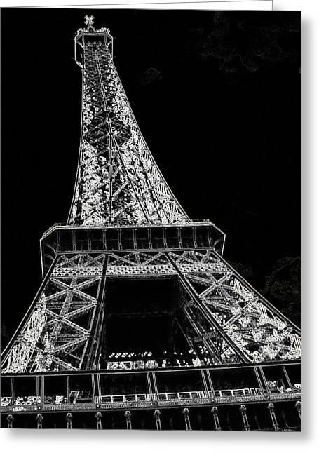 Paris  Greeting Card by Rhonda McDougall