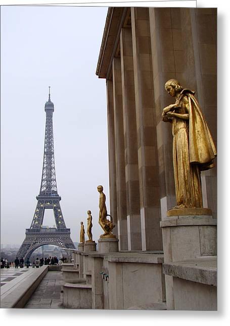 Paris Greeting Card by Sanjeewa Marasinghe