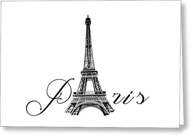 Paris  Greeting Card by Steven  Taylor