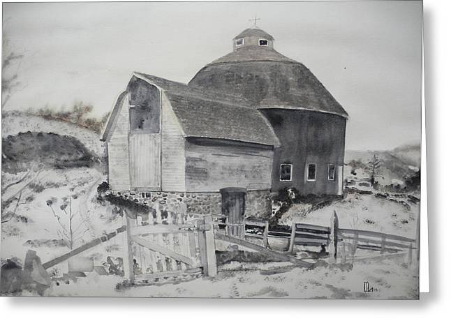 Parish Barn Greeting Card