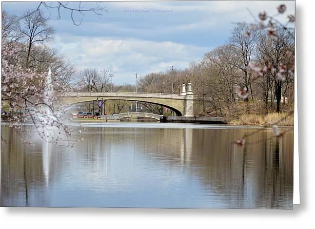 Park Avenue Bridge Greeting Card by Sonali Gangane