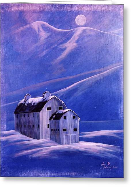 Park City Barn Greeting Card