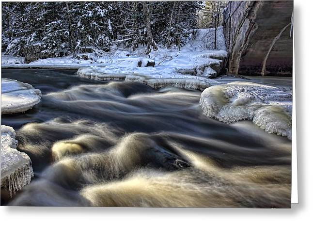 Eau Claire Dells Park Greeting Card