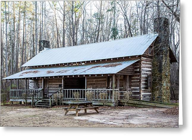 Park Ranger Cabin Greeting Card