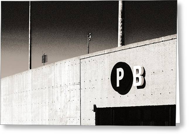 Greeting Card featuring the photograph Parking B by Arkady Kunysz