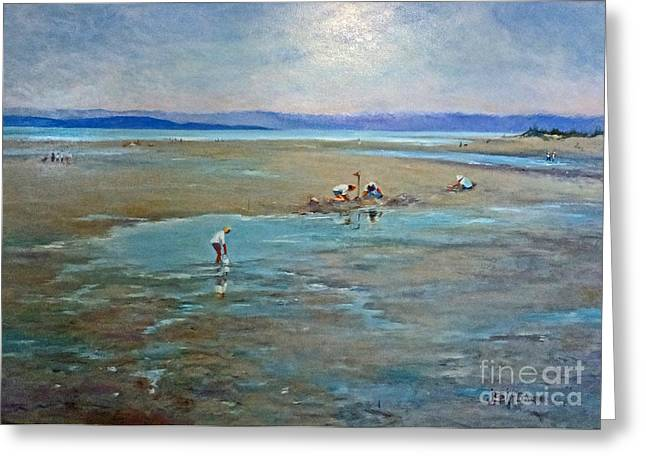 Parksville Beach Greeting Card