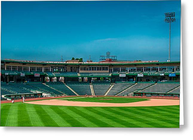 Parkview Field Fort Wayne Greeting Card