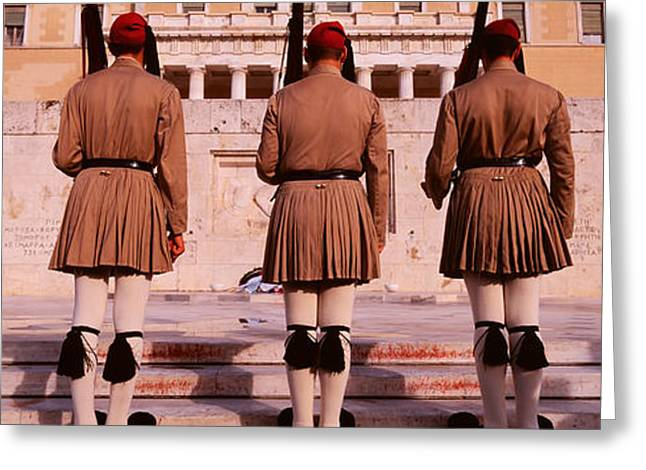 Parliament, Athens, Greece Greeting Card by Panoramic Images